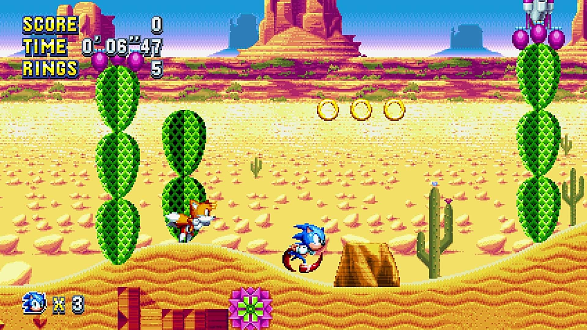 Скриншот к игре Sonic Mania (2017) PC   RePack от R.G. Механики