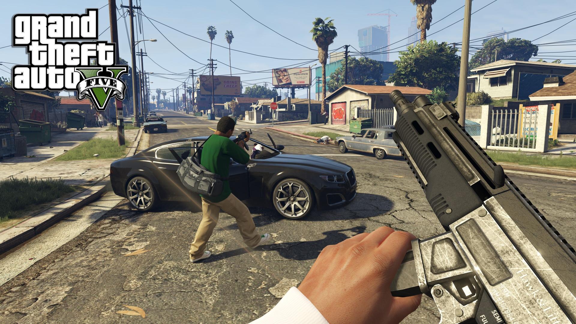 Скриншот к игре Grand Theft Auto V - Redux [v 1.0.1868/1.50]  (2015) PC | RePack от R.G. Механики