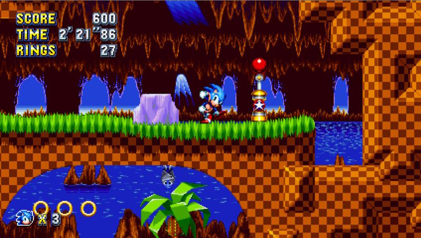 Скриншот к игре Sonic Mania [v 1.03] (2017) PC   RePack от R.G. Механики