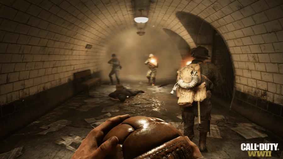Скриншот к игре Call of Duty: WWII - Digital Deluxe Edition (2017) PC | RePack от R.G. Механики