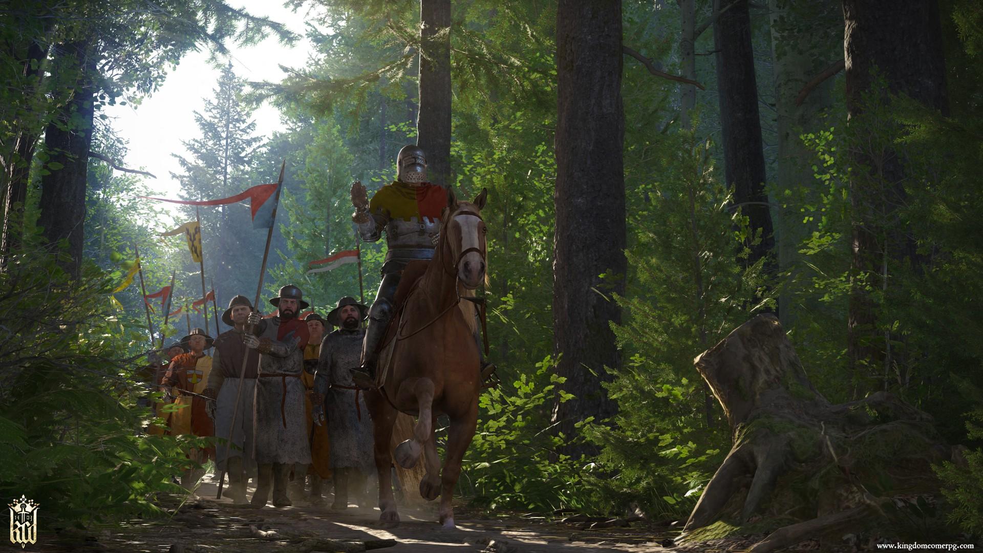 Скриншот к игре Kingdom Come: Deliverance - Royal Edition (v.1.9.6-404-504u (43503) +DLC) (2018) скачать торрент RePack от R.G. Механики