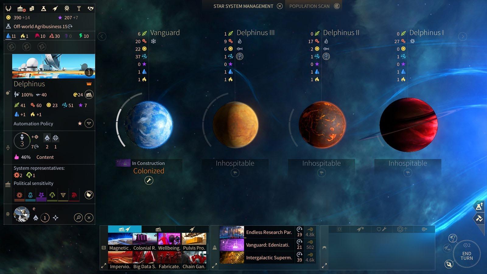 Скриншот к игре Endless Space 2 (v.1.5.30.S5+DLC) (2016) скачать торрент RePack
