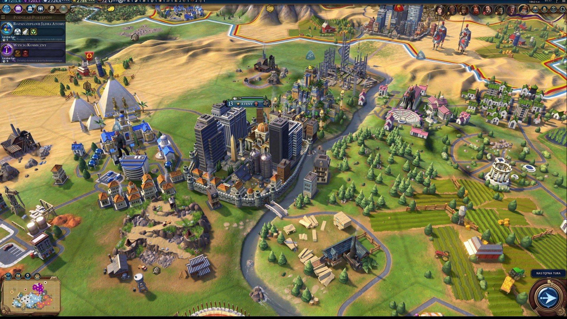 Скриншот к игре Sid Meier's Civilization VI: Digital Deluxe [v 1.0.1.501 + DLC's + Bonus] (2016) скачать торрент RePack от R.G. Механики