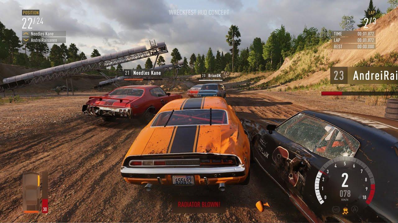 Скриншот к игре Wreckfest [v 1.268578 + DLCs] (2018) скачать торрент RePack от R.G. Механики