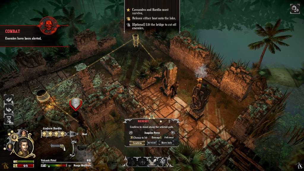 Скриншот к игре Hard West: Collector's Edition [v 1.5.0] (2015) PC | RePack от R.G. Механики