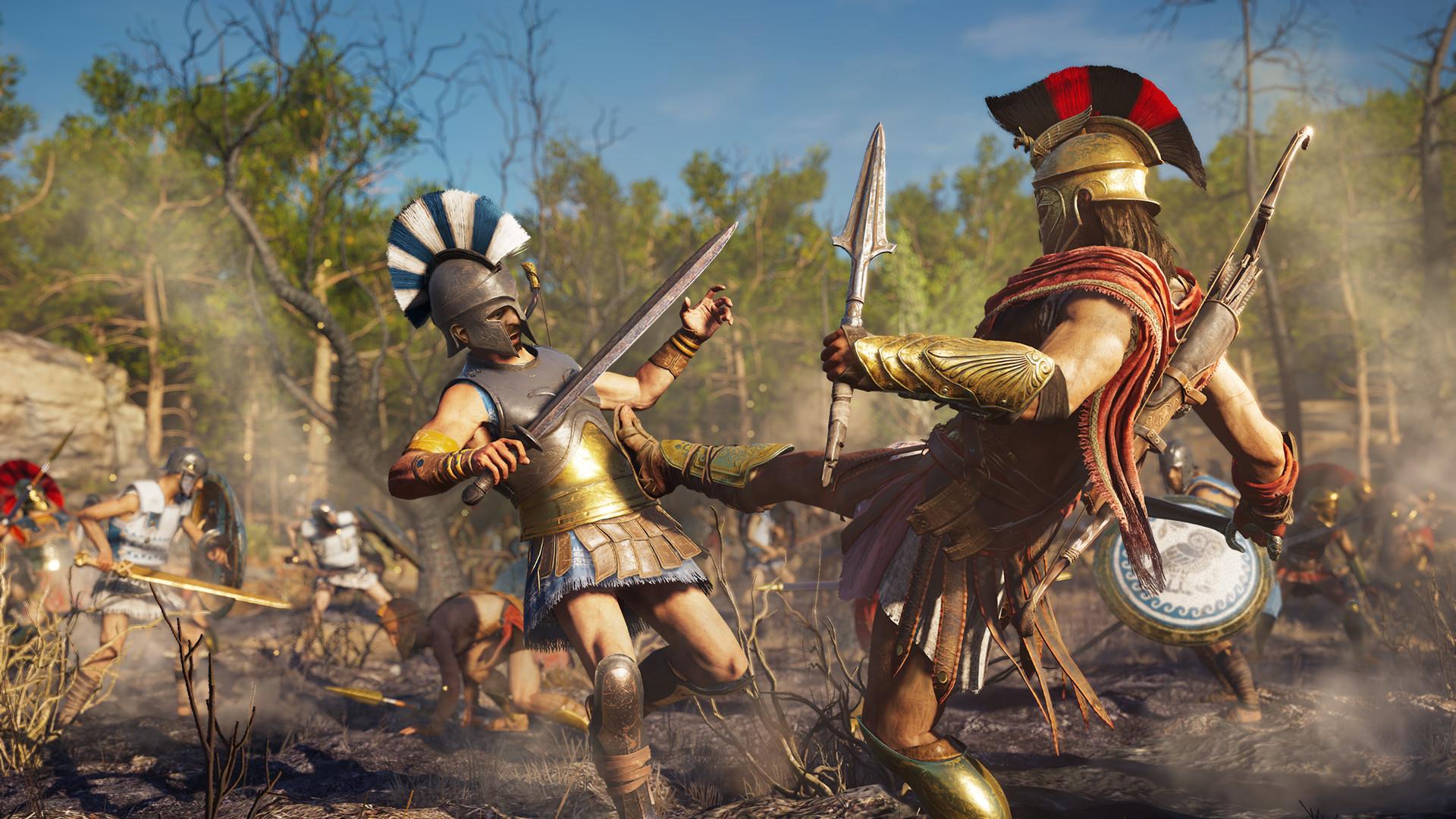 Скриншот к игре Assassin's Creed Odyssey Gold Edition