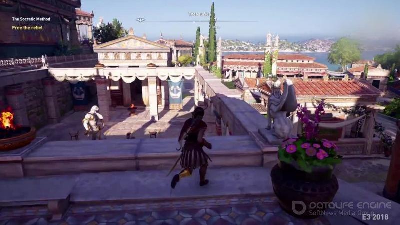 Скриншот к игре Assassin's Creed: Odyssey - Ultimate Edition [v 1.5.3+DLC ] (2018) скачать торрент RePack