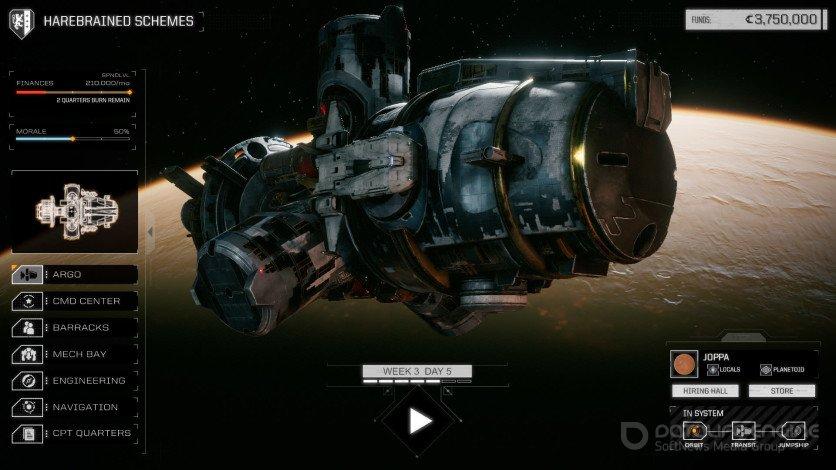 Скриншот к игре BATTLETECH - Digital Deluxe Edition (v.1.9.1+DLC) (2018) скачать торрент RePack