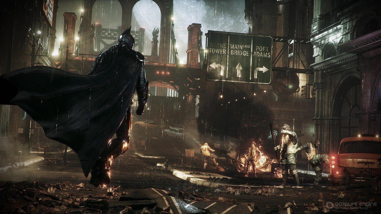 Скриншот к игре Batman: Arkham Batman: Arkham Knight - Game of the Year Edition (2015) скачать торрент RePack от xatab