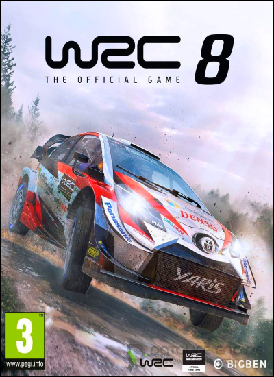 WRC 8 FIA World Rally Championship [v 1.5.1 + DLCs] (2019)