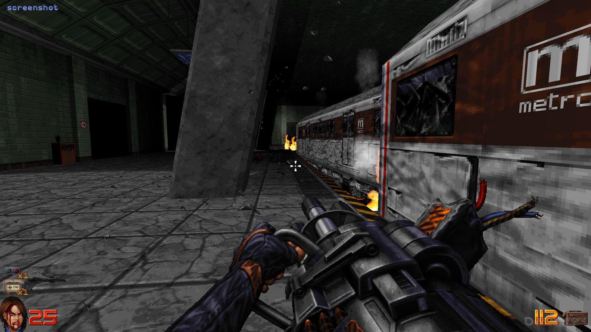 Скриншот к игре Ion Fury v.1.1 [GOG] (2019) скачать торрент Лицензия