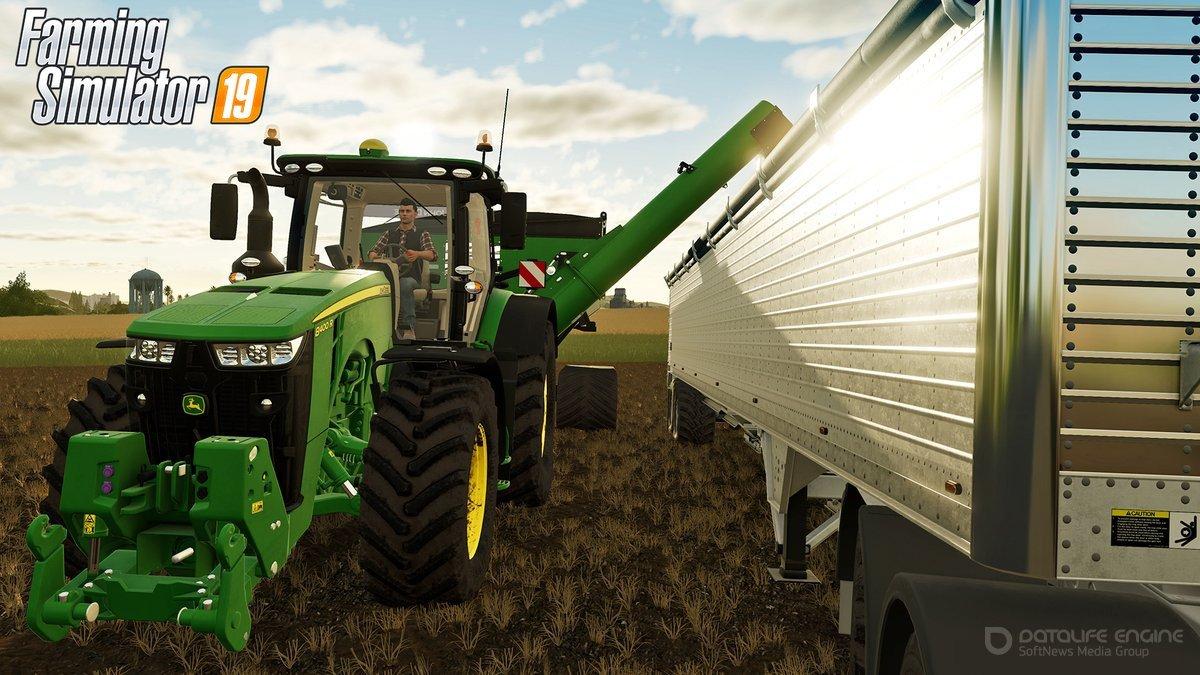 Скриншот к игре Farming Simulator 19 Platinum Expansion (v.1.6.0.0+DLC) (2018) скачать торрент RePack