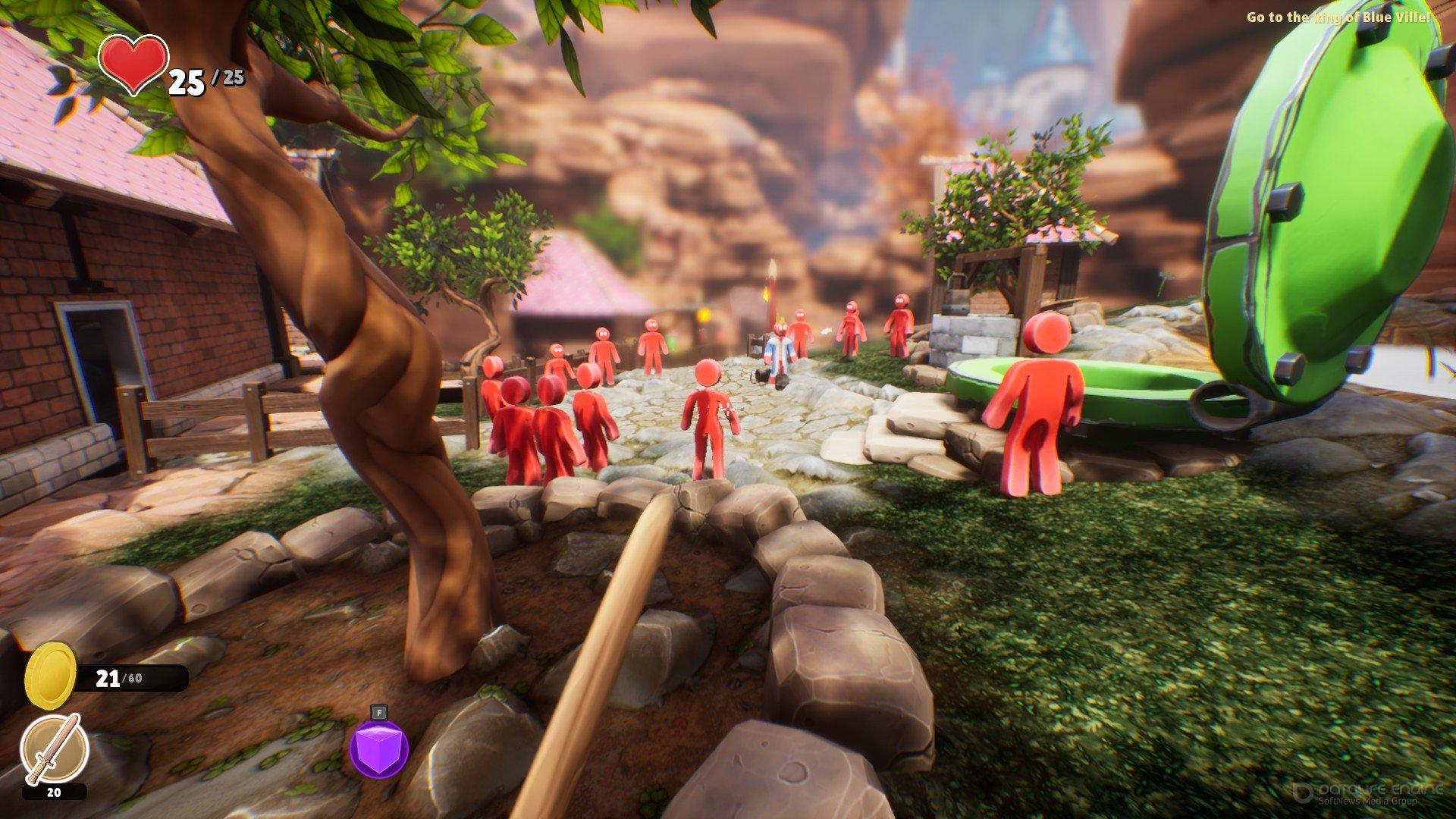 Скриншот к игре Supraland v.1.20.14 [Portable] (2019) скачать торрент Лицензия
