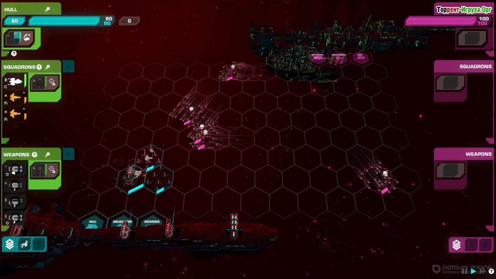 Скриншот к игре Crying Suns v.2.2.5 [GOG] (2019) скачать торрент Лицензия