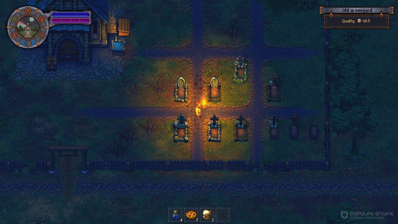 Скриншот к игре Graveyard Keeper v.1.310 [GOG] (2018) скачать торрент Лицензия