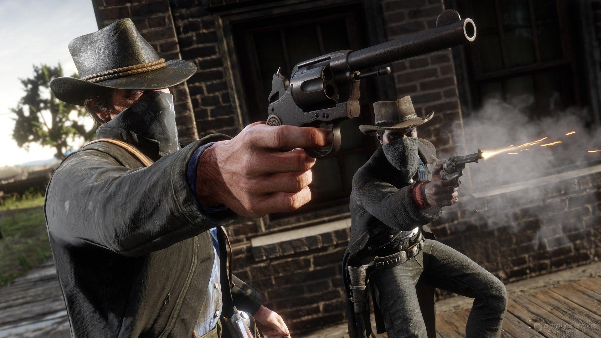 Скриншот к игре Red Dead Redemption 2: Ultimate Edition [v.1.0.1311.23] (2020) скачать торрент RePack от xatab