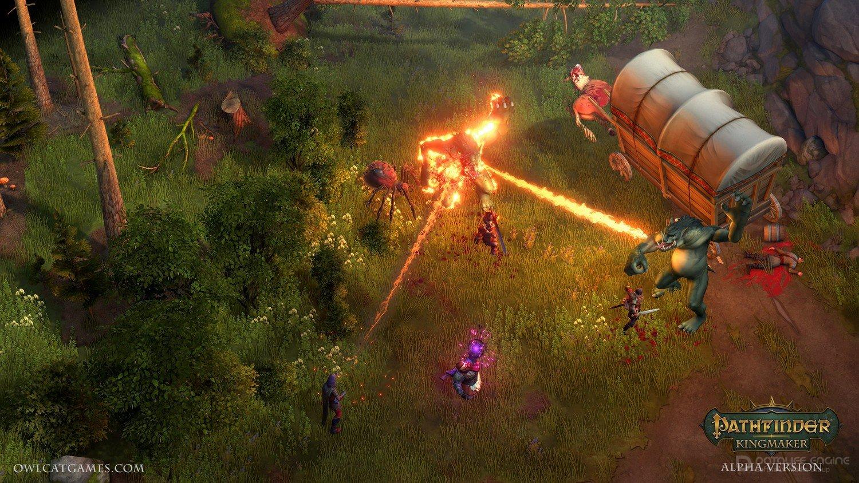 Скриншот к игре Pathfinder: Kingmaker - Definitive Edition (v.2.1.4 (41463)+ DLC) (2018) скачать торрент RePack