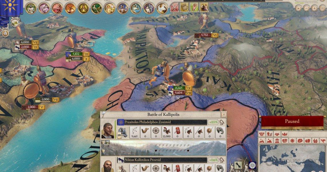 Скриншот к игре Imperator: Rome - Deluxe Edition v.2.02 rc1 [GOG] (2019) скачать торрент Лицензия