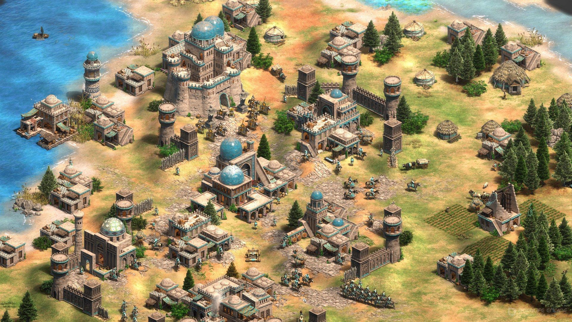 Скриншот к игре Age of Empires II: Definitive Edition [Build 51737 ] (2019) скачать торрент RePack