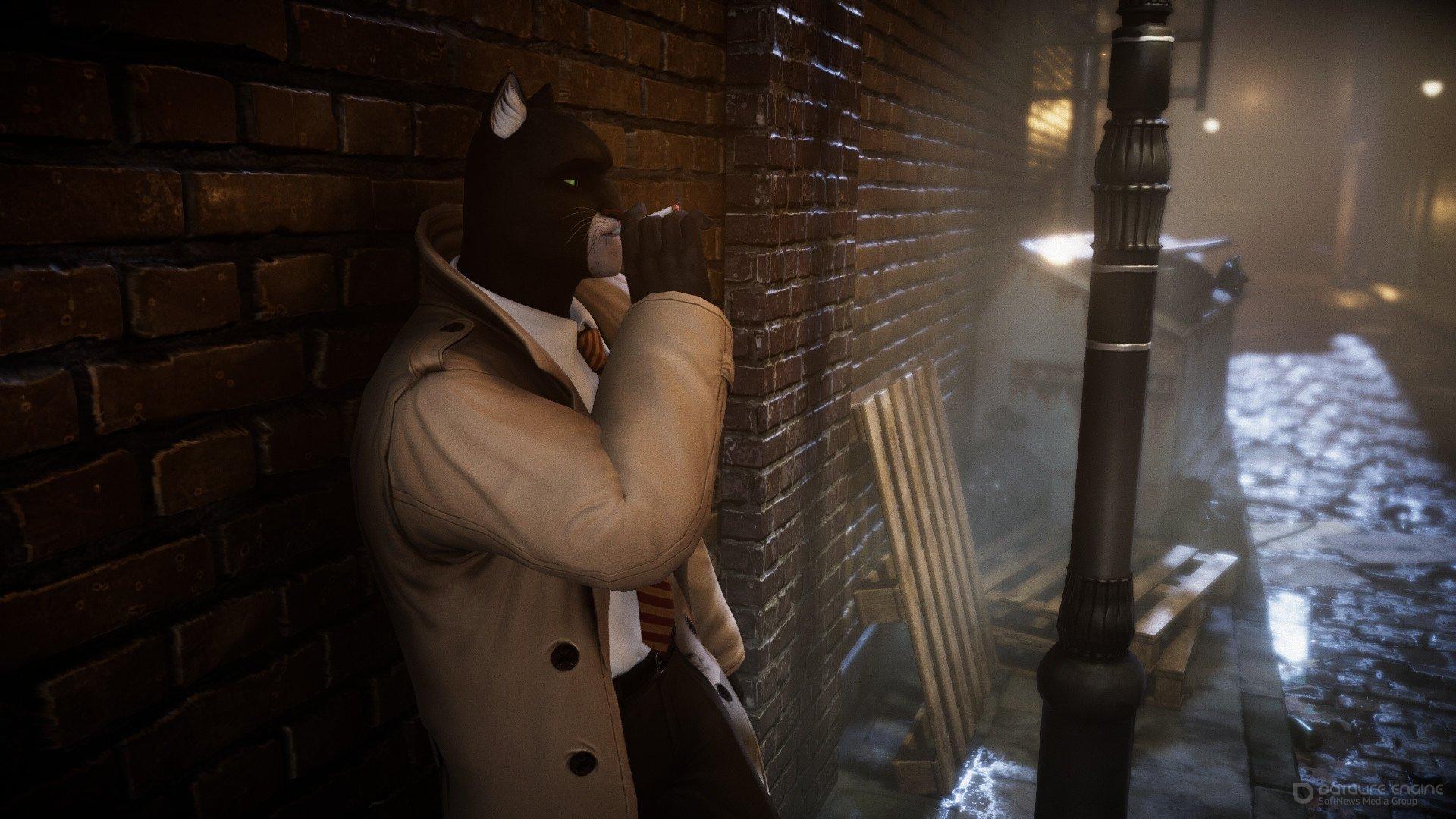 Скриншот к игре Blacksad: Under the Skin (2019) скачать торрент RePack от xatab