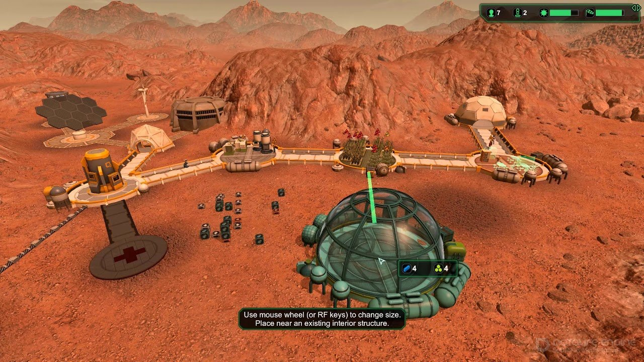 Скриншот к игре Planetbase v.1.3.7 [GOG] (2015) скачать торрент Лицензия