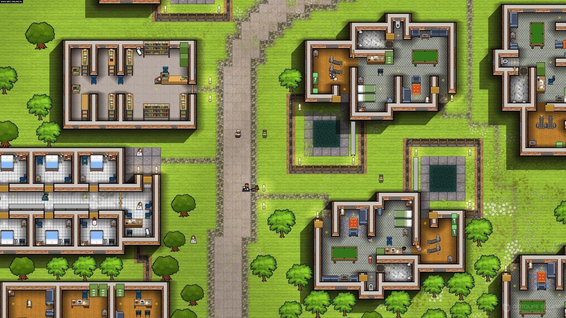 Скриншот к игре Prison Architect (r5352) [GOG] (2015) скачать торрент Лицензия