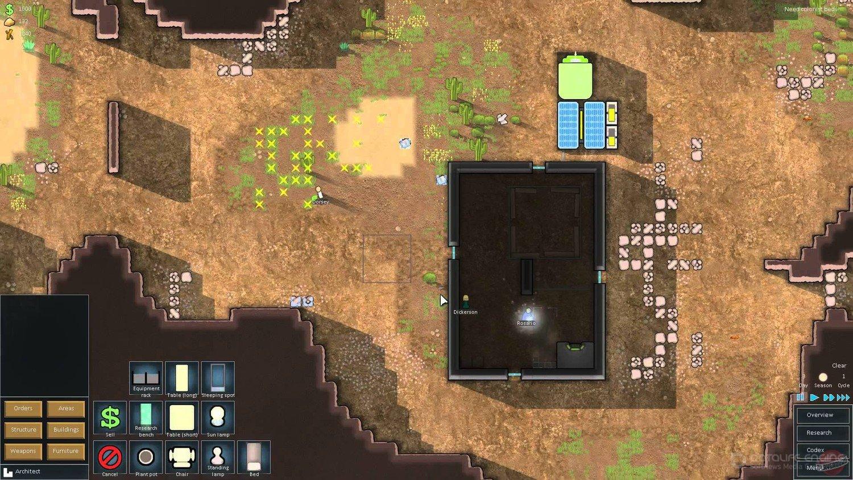 Скриншот к игре RimWorld v.1.3.3095 rev617[GOG] (2018) скачать торрент Лицензия