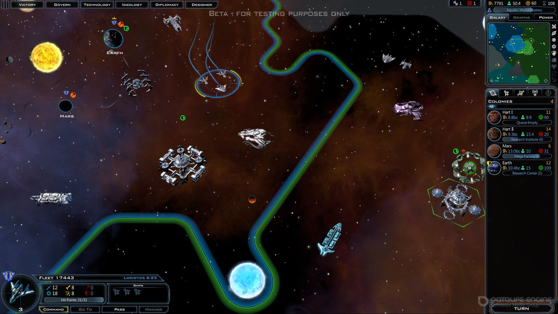 Скриншот к игре Galactic Civilizations III [v 44.2.23169 + DLC] (2015) скачать торрент RePack от R.G. Механики