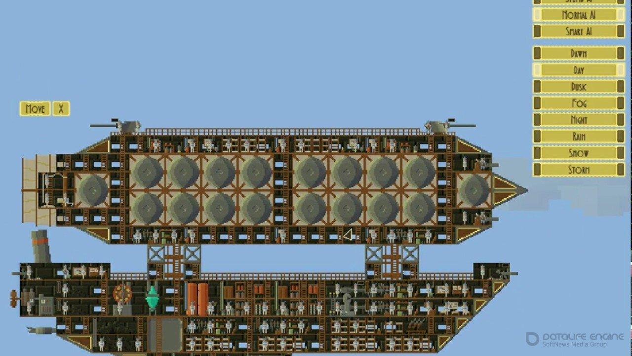 Скриншот к игре Airships: Conquer the Skies v.1.0.20.1 [GOG] (2018) скачать торрент Лицензия