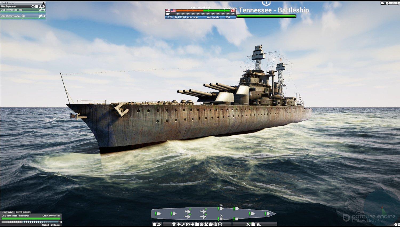Скриншот к игре Victory At Sea Pacific [v 1.7.2 (39897) ] (2018) скачать торрент RePack