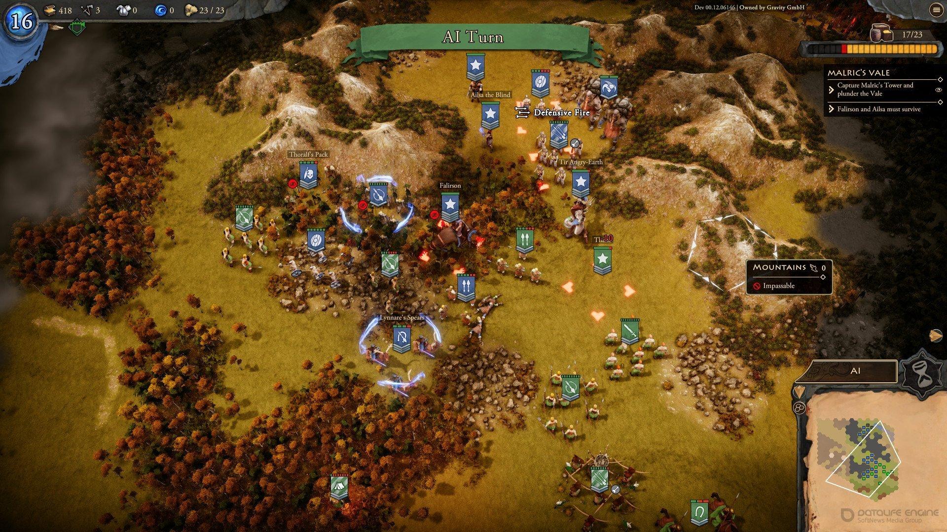 Скриншот к игре Fantasy General II Invasion General Edition v.01.02.12872 [GOG] (2019) скачать торрент Лицензия