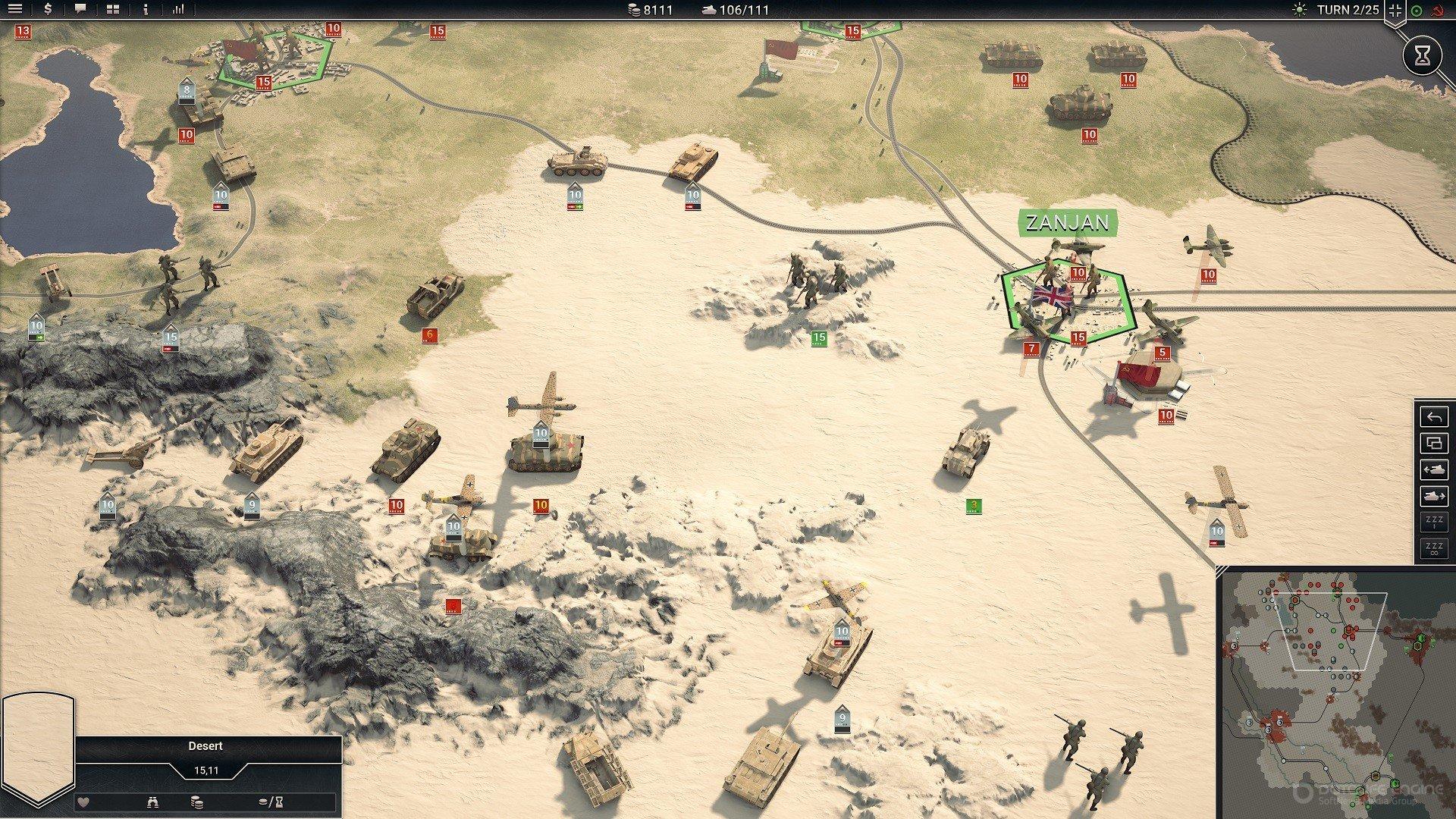 Скриншот к игре Panzer Corps 2 [v 1.01.09 (40793) +DLC] (2020) скачать торрент RePack
