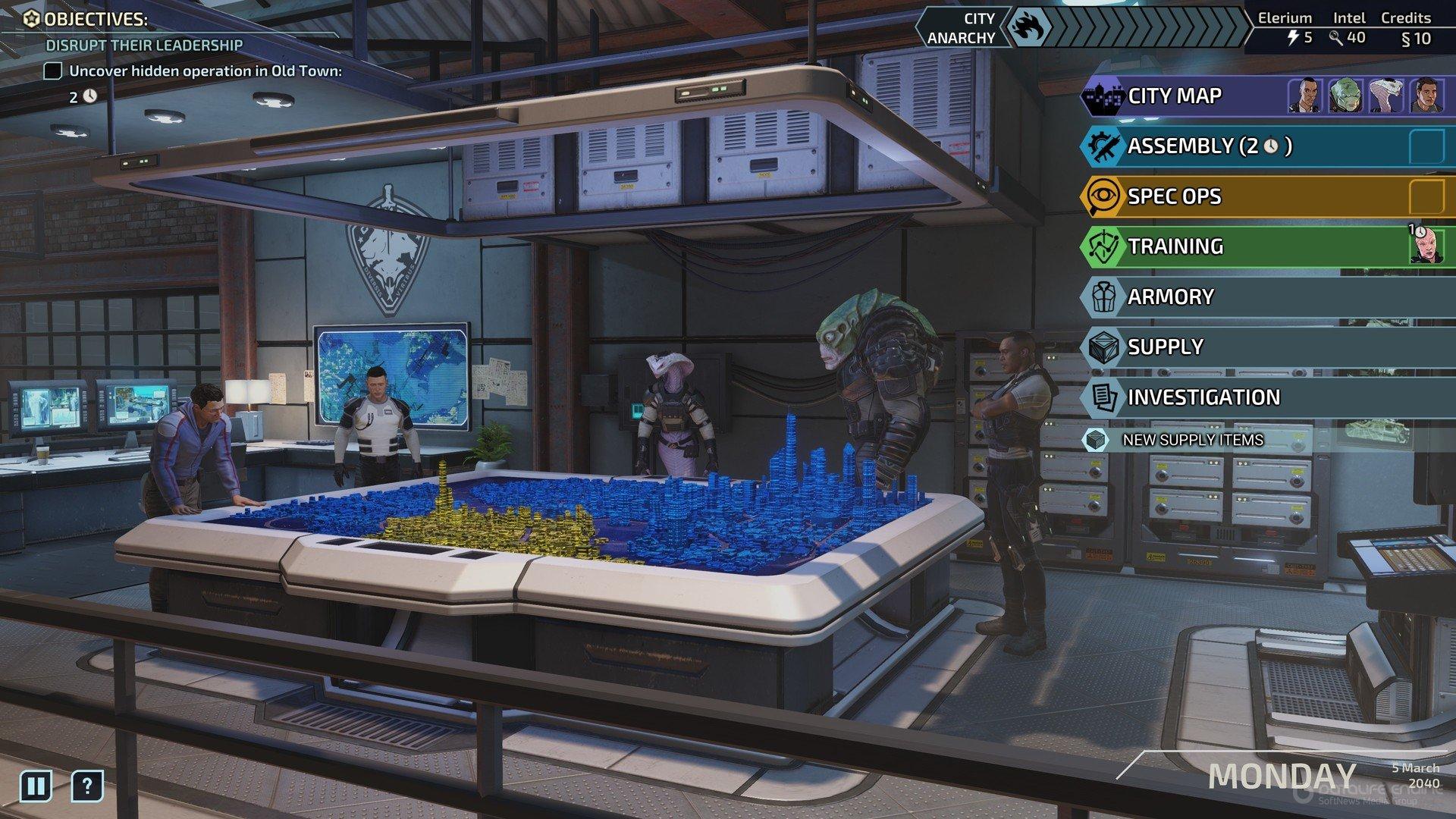 Скриншот к игре XCOM: Chimera Squad [v. 1.0.0.46049] (2020) скачать торрент RePack от R.G. Механики