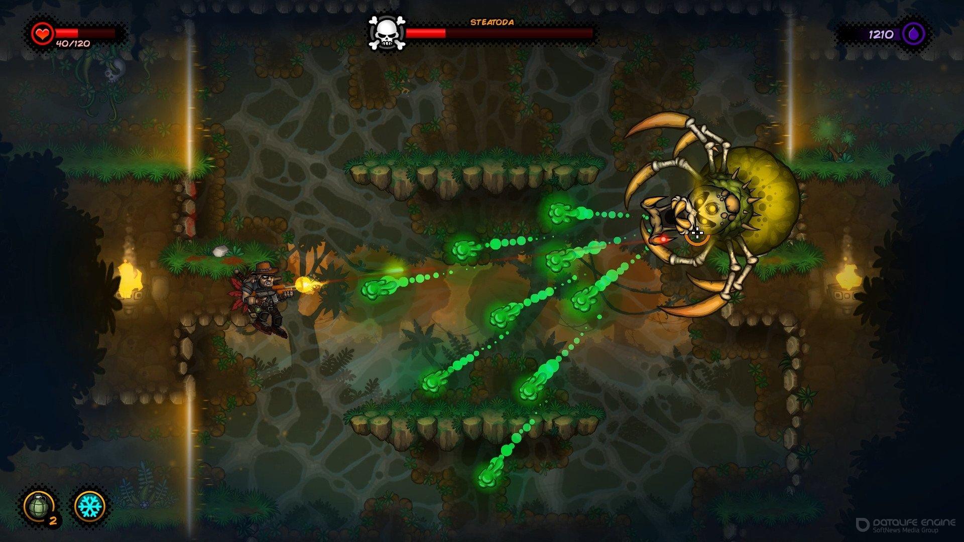 Скриншот к игре Fury Unleashed v.1.7.0.2 [GOG] (2020) скачать торрент Лицензия