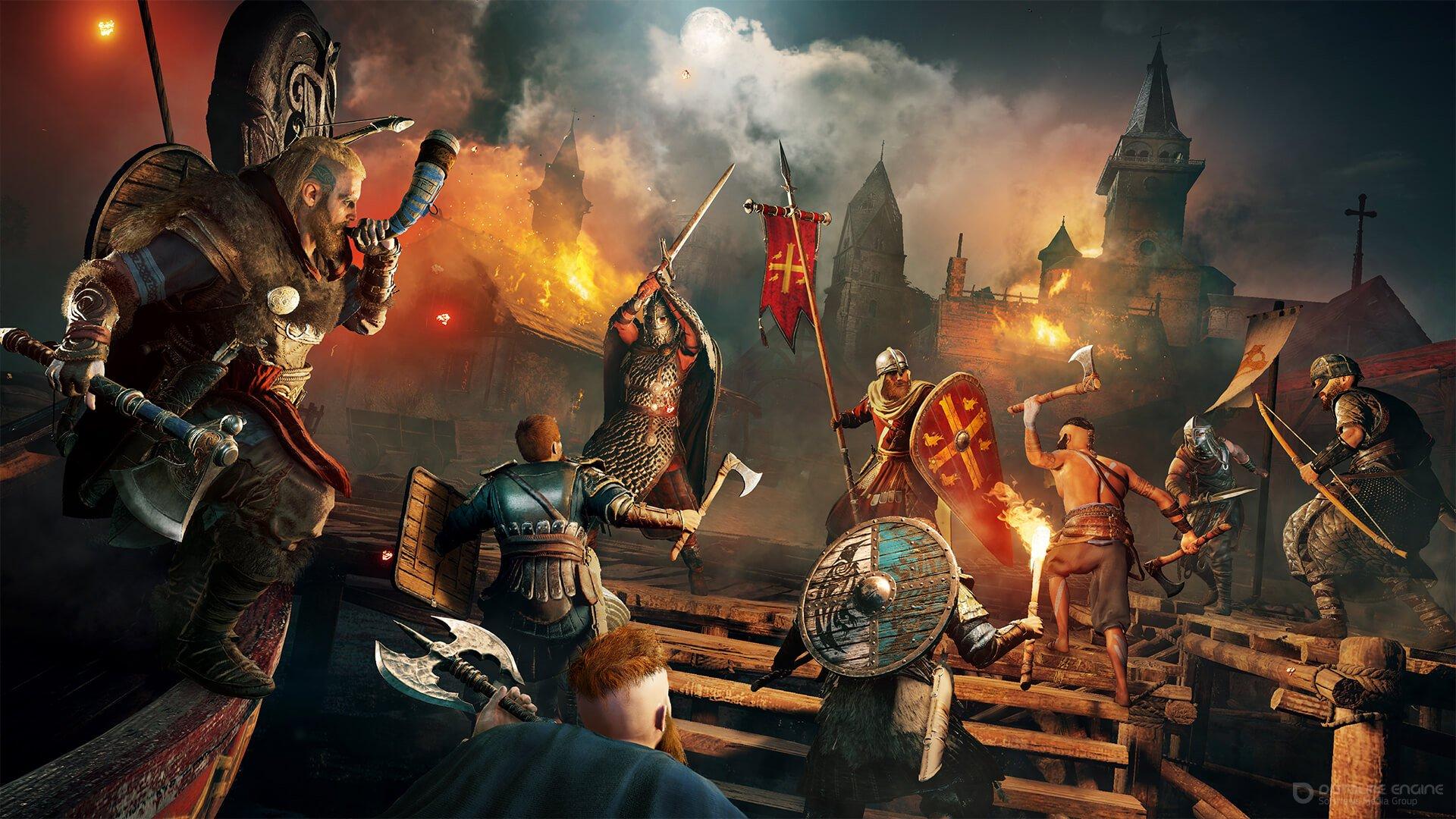 Скриншот к игре Assassin's Creed: Valhalla v.1.1.2 [Uplay-Rip] (2020) скачать торрент Лицензия