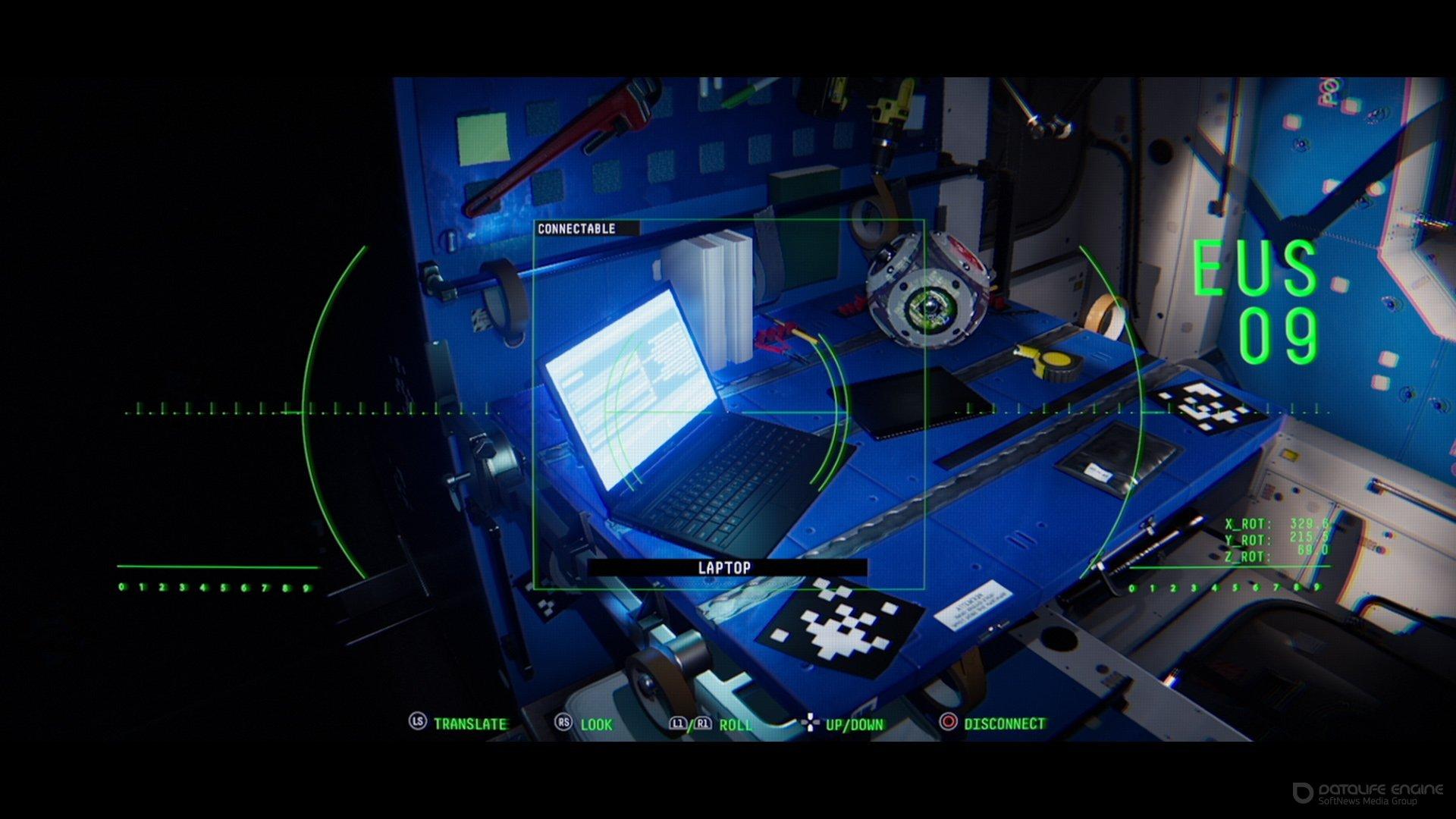 Скриншот к игре Observation [v 1.17] (2019) скачать торрент RePack