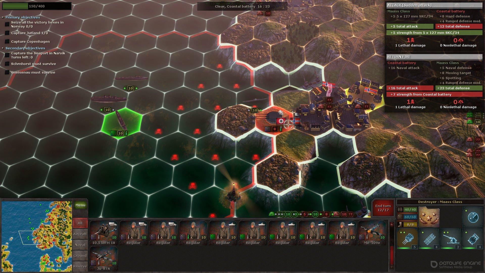 Скриншот к игре Strategic Mind: Blitzkrieg [GOG] (2020) скачать торрент Лицензия