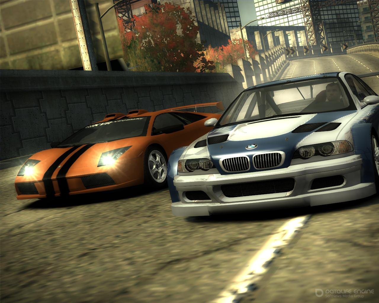 Скриншот к игре Need for Speed: Most Wanted - Black Edition (2005) PC   RePack от R.G. Механики