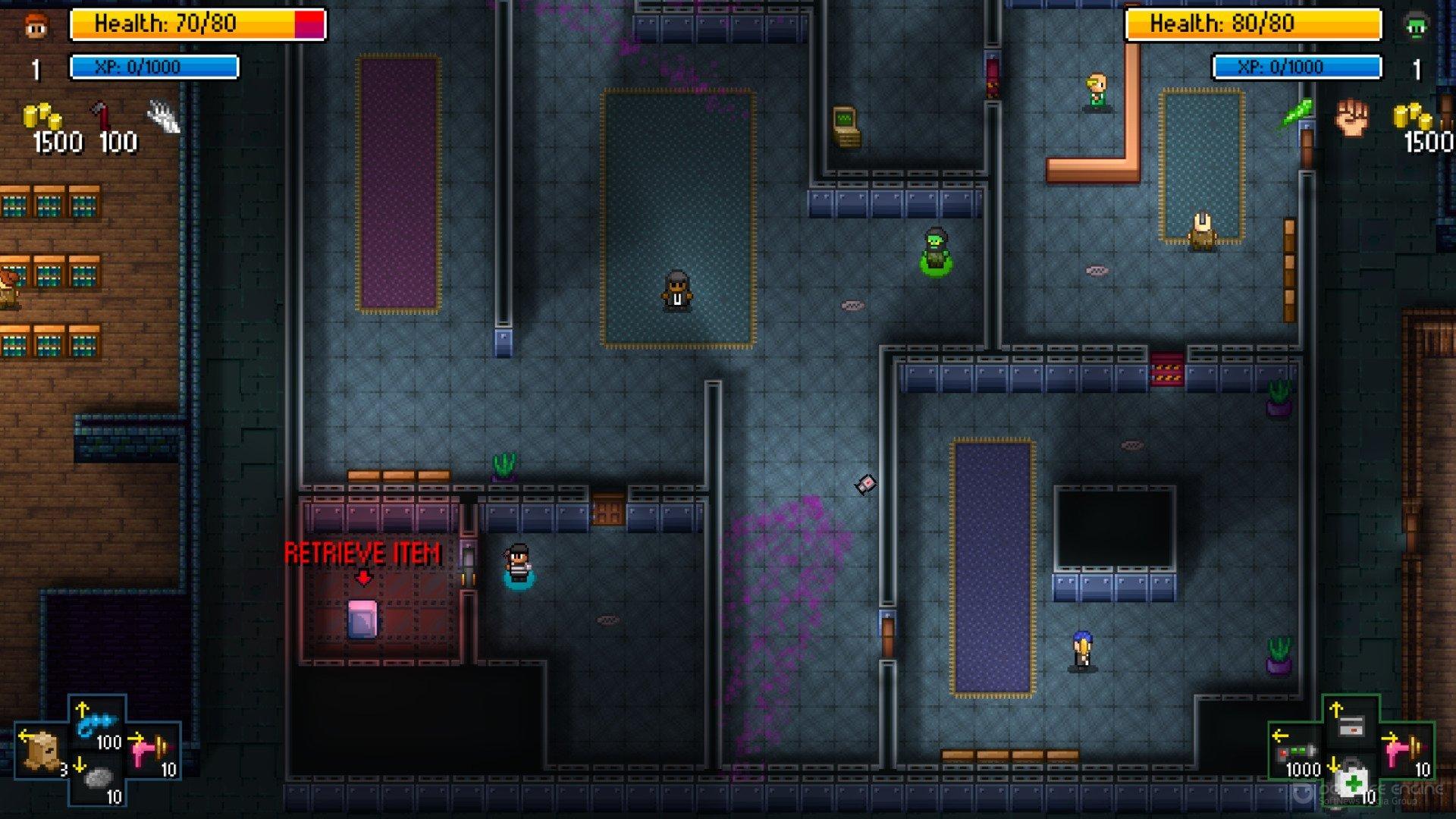 Скриншот к игре Streets of Rogue v.93 [GOG] (2019) скачать торрент Лицензия