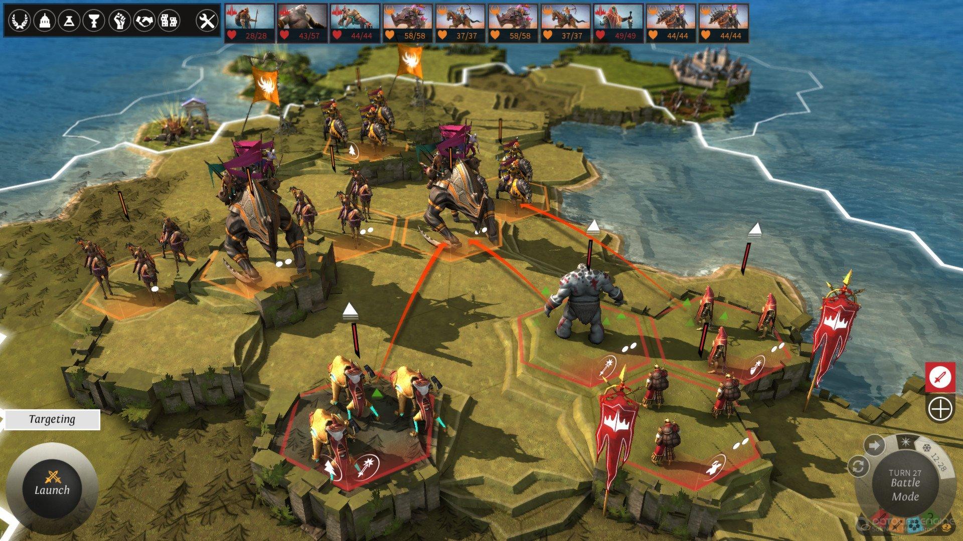 Скриншот к игре Endless Legend [v 1.8.2 + DLC's] (2014) скачать торрент RePack