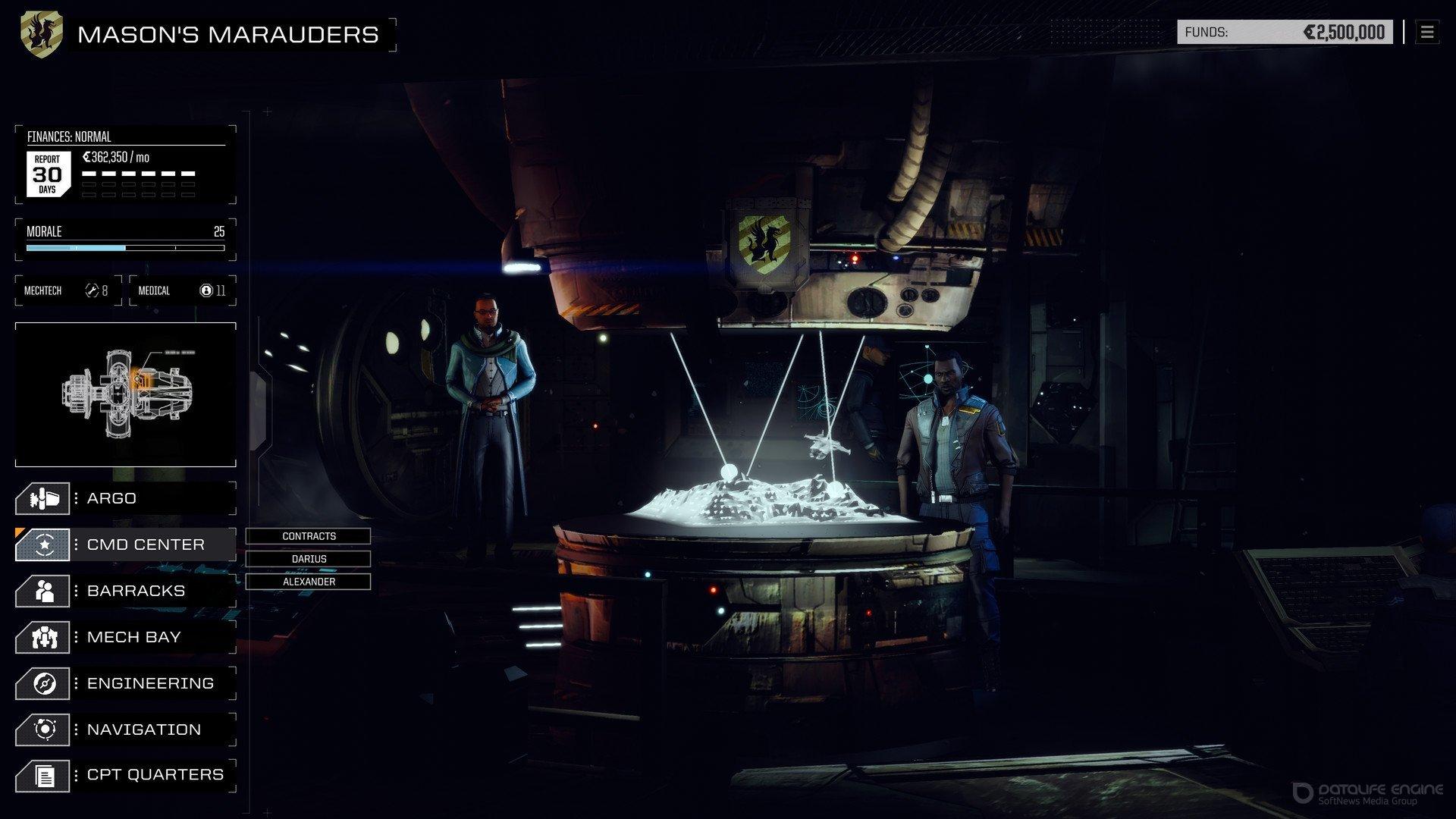 Скриншот к игре BATTLETECH Digital Deluxe Edition [GOG] (ENG/RUS/MULTI4) от R.G. GOGFAN (2018) скачать торрент Лицензия