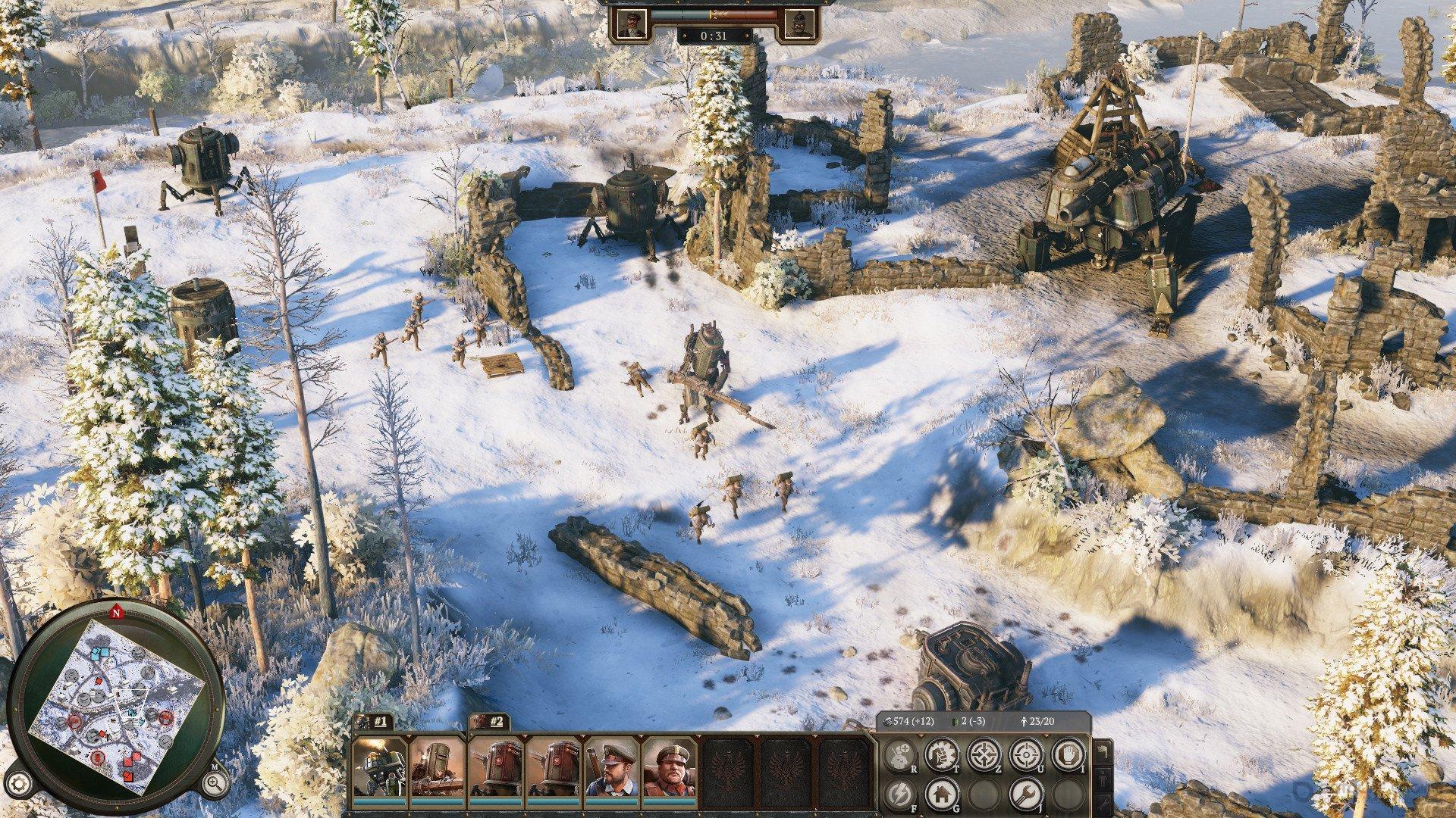 Скриншот к игре Iron Harvest - Deluxe Edition v.1.1.7.2262 [GOG] (2020) скачать торрент Лицензия