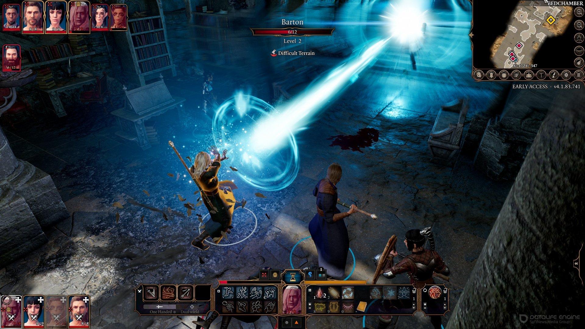 Скриншот к игре Baldur's Gate 3 (4.1.99.8615 EA) [GOG] (Early Access) скачать торрент Лицензия