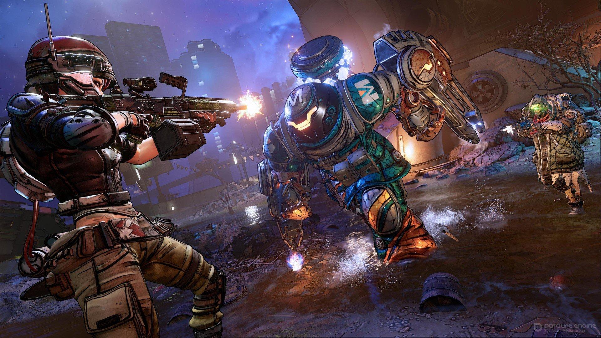 Скриншот к игре Borderlands 3 ( v Build 5382210 ) (2019) скачать торрент RePack
