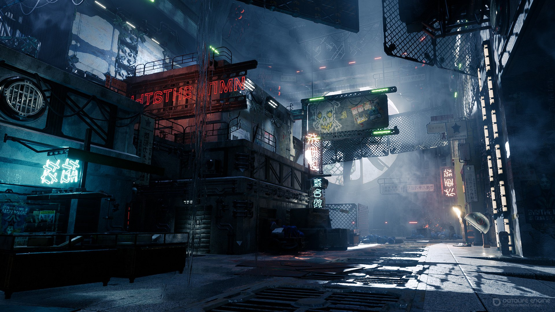 Скриншот к игре Ghostrunner  [v 0.40019.434] (2020) скачать торрент RePack от R.G. Механики