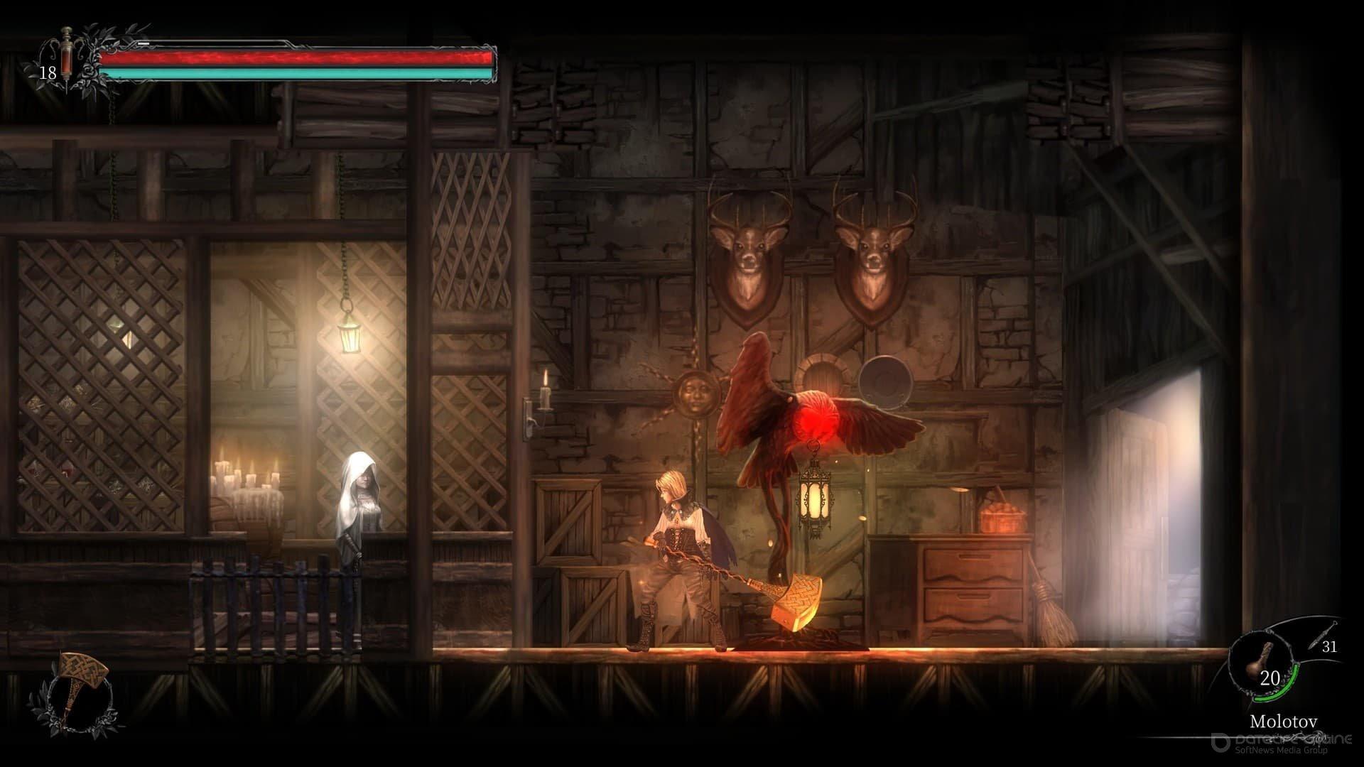 Скриншот к игре Vigil: The Longest Night (2020) скачать торрент Лицензия