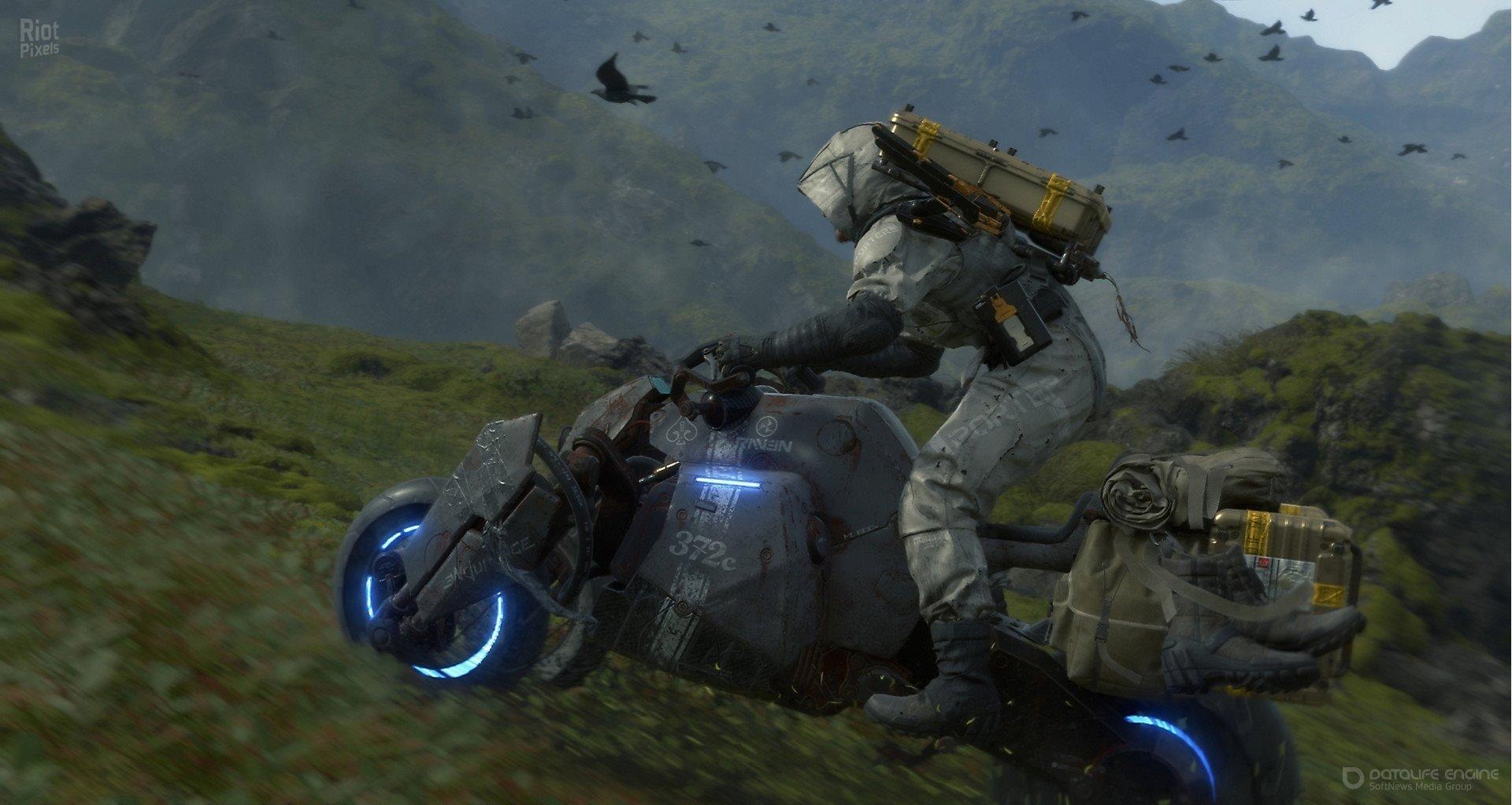 Скриншот к игре DEATH STRANDING [v. 1.06 HotFix +DLC] (2020) скачать торрент RePack от R.G. Механики