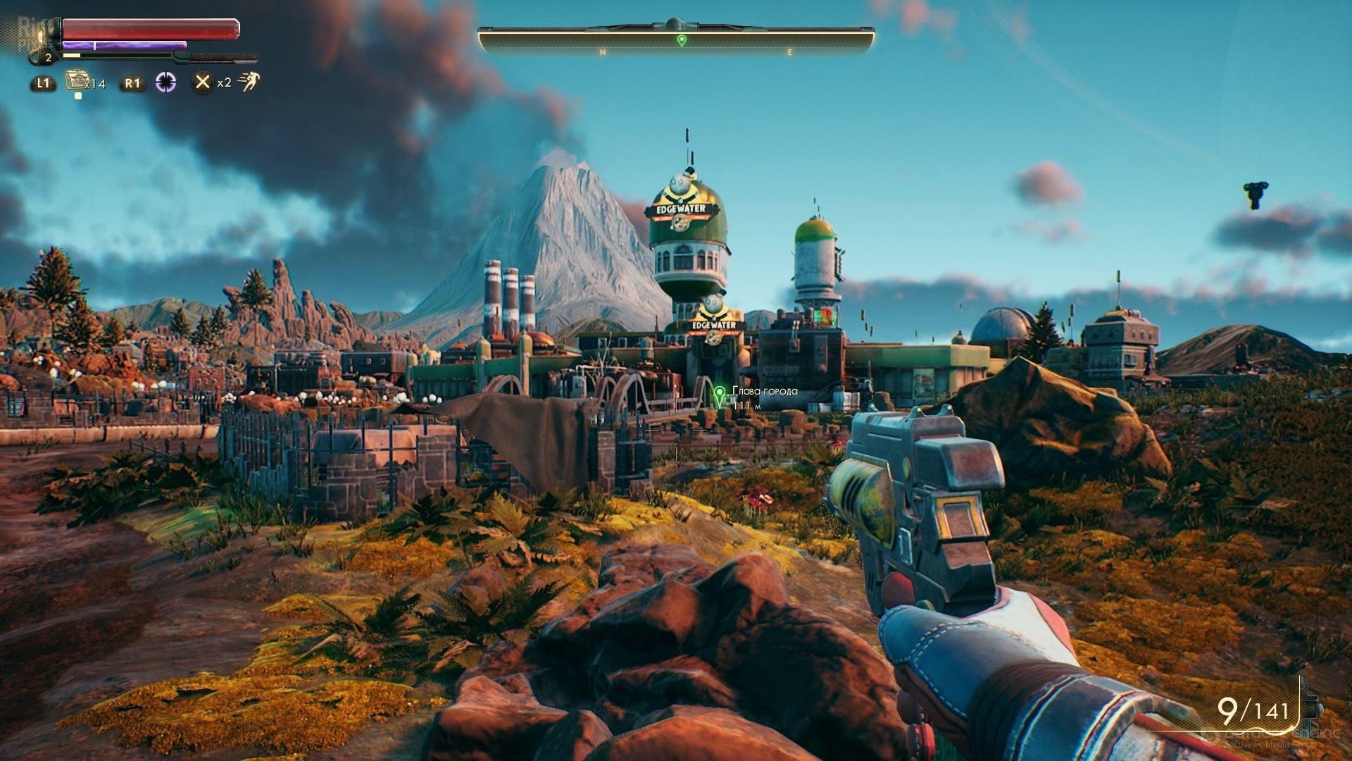 Скриншот к игре The Outer Worlds v.1.5.1.712 + 2 DLC [GOG] (2019) скачать торрент Лицензия