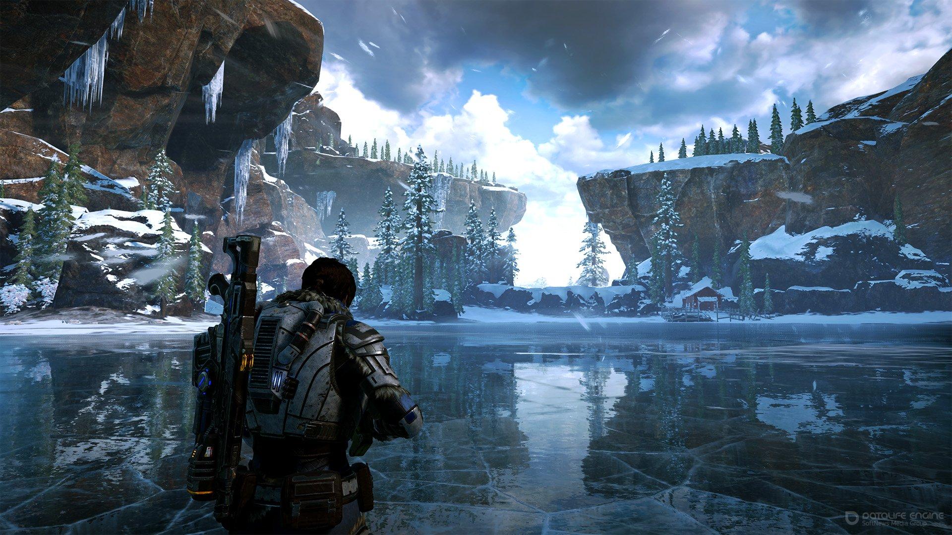 Скриншот к игре Gears 5: Ultimate Edition [v 1.1.97.0 + DLCs] (2019) скачать торрент RePack от R.G. Механики