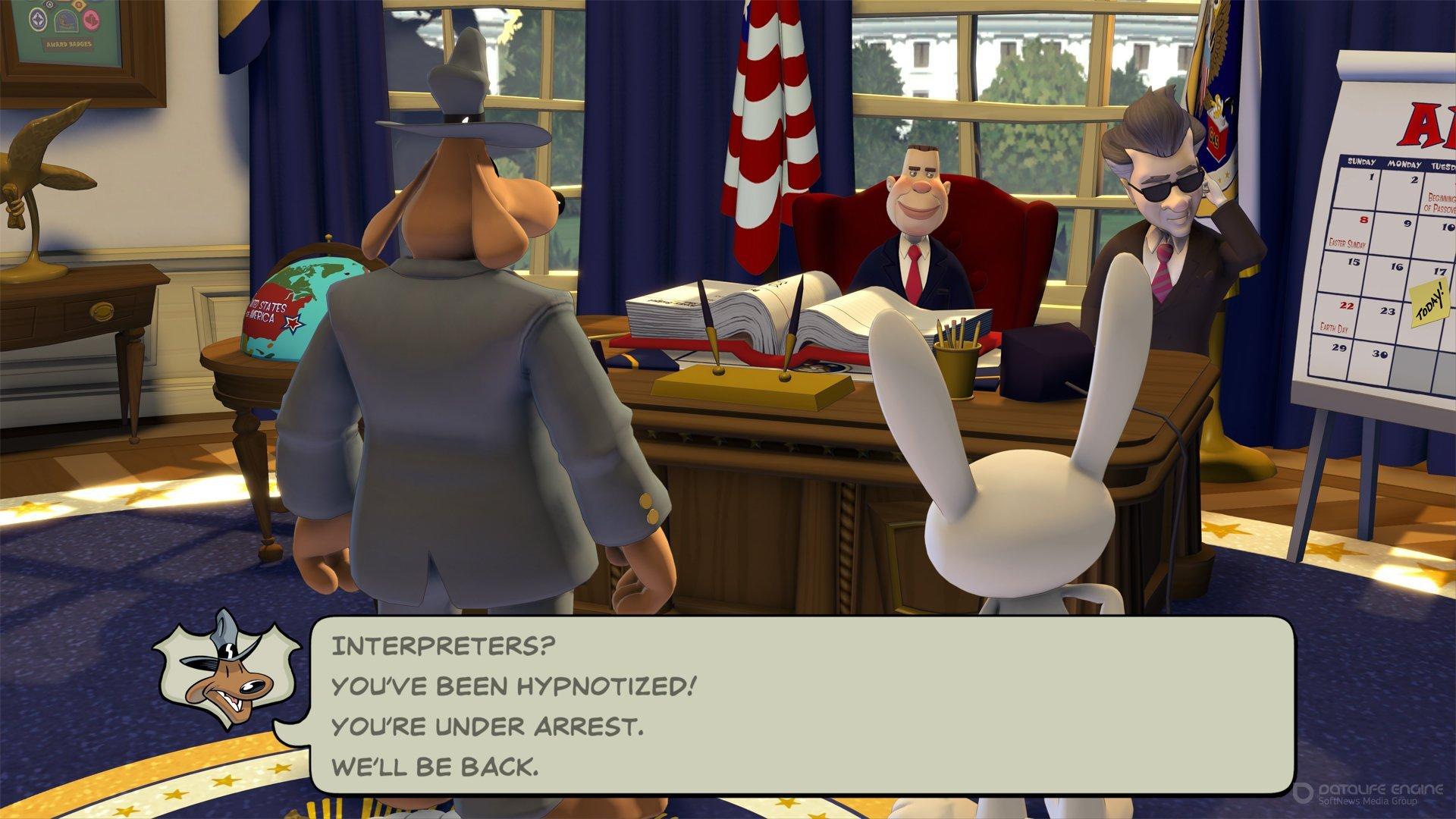 Скриншот к игре Sam & Max Save the World v.1.0.7 [GOG] (2006-2020) скачать торрент Лицензия